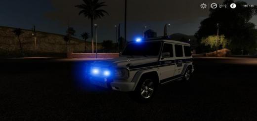 Photo of FS19 – Mercedes-Benz G55 Amg Police V2