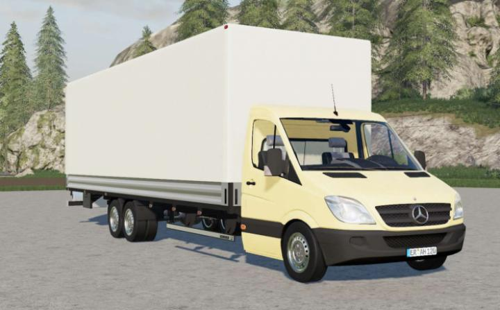 FS19 - Mercedes-Benz Sprinter 6X6 Pritschenwagen Long