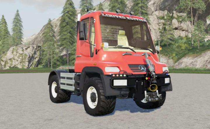 FS19 - Mercedes-Benz Unimog U400 (Br.405) 2000