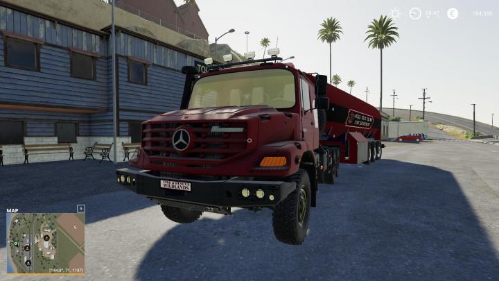 FS19 - Mercedes-Benz Zetros 3643 6X6 V2