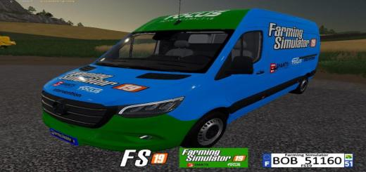 Photo of FS19 – Mercedes Sprinter V2