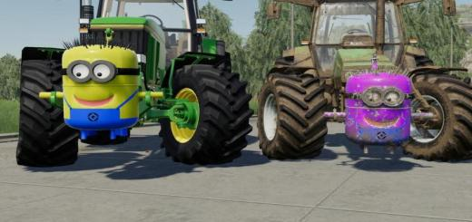 Photo of FS19 – Minion Weight V1