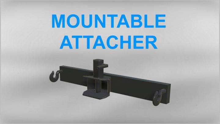 FS19 - Mountable Attacher V1