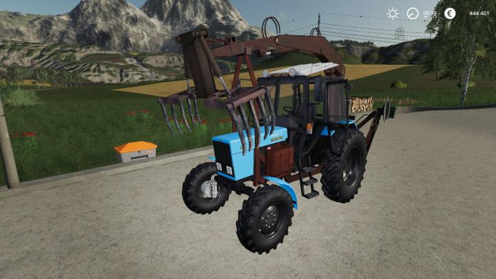 FS19 - Mtz 82 Pe 1F Forklift V1