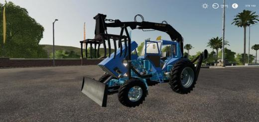 Photo of FS19 – Mtz 82 Pe 2F Forklift – Alteration V1