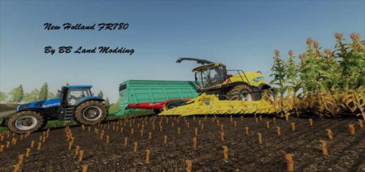 Photo of FS19 – New Holland Fr 780 V1