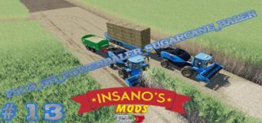 Photo of FS19 – New Holland Powerbaler Sugarcane Baler V2