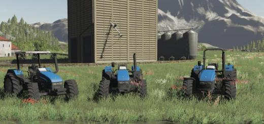 Photo of FS19 – New Holland Serie Tl No Cab V1