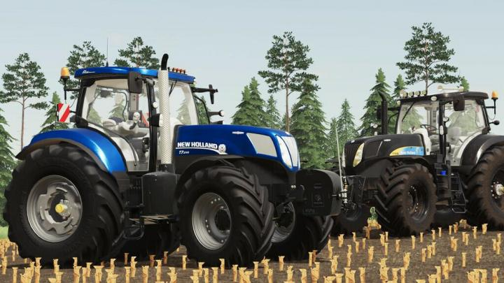 FS19 - New Holland T7 Ac Series V1.2