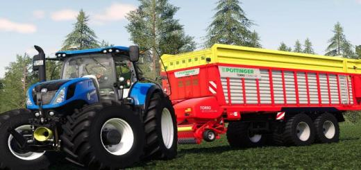 Photo of FS19 – New Holland T7 V1.0.1.0