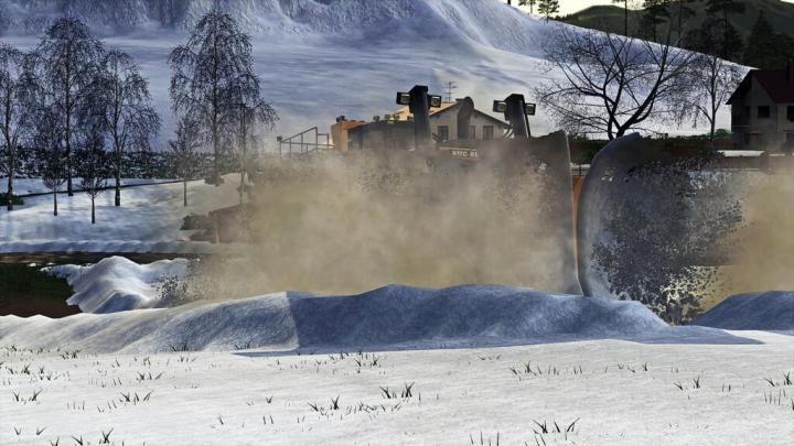 FS19 - Nmc Dozer Snowplow V1