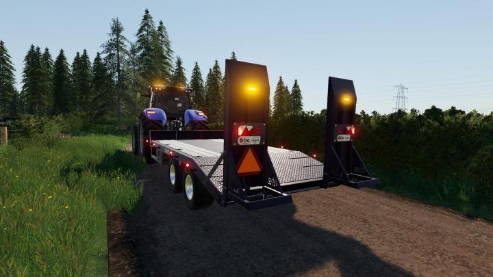 FS19 - Obe Low Loader Toten Fs-Team V2