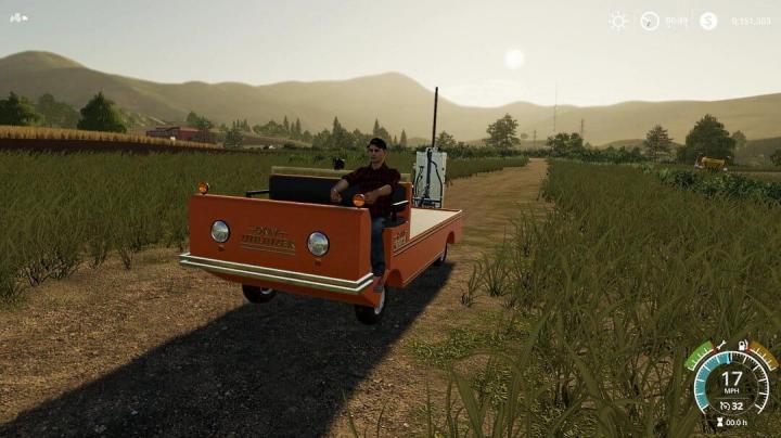 FS19 - Ok Utilitizer - Utility Vehicle V1