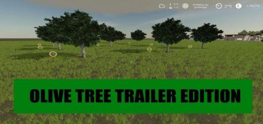 Photo of FS19 – Olive Tree Trailer Edition V1