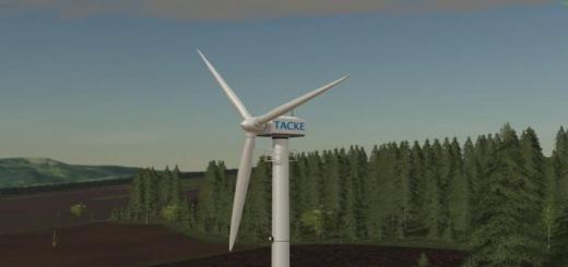 Photo of FS19 – Platzierbare Windkraftanlage Tw 80 V1
