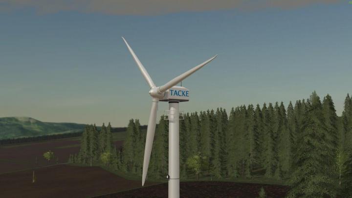 FS19 - Platzierbare Windkraftanlage Tw 80 V1