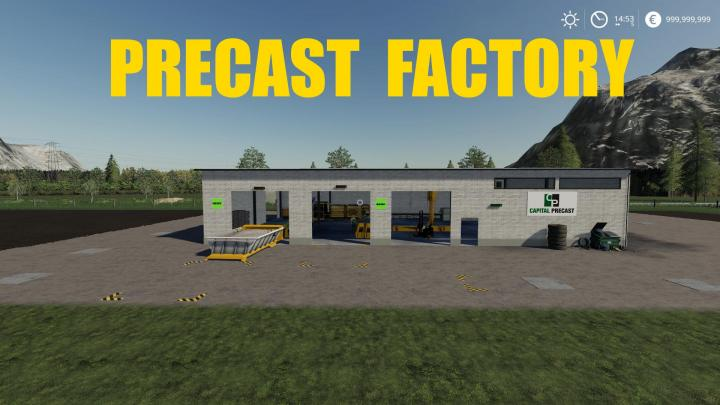 FS19 - Precast Factory V1
