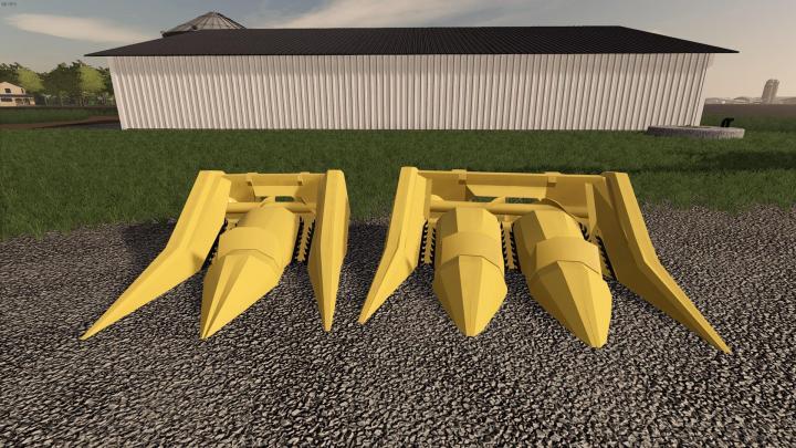 FS19 - Pulltype Earlage Headers V1