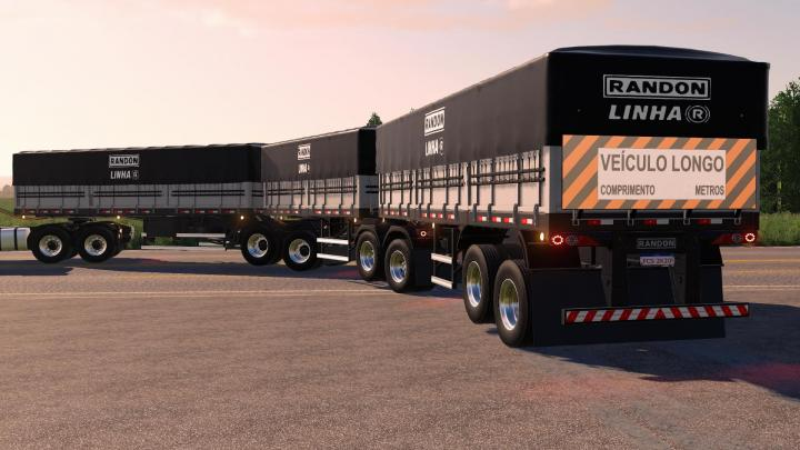 FS19 - Randon Trailers Pack V4