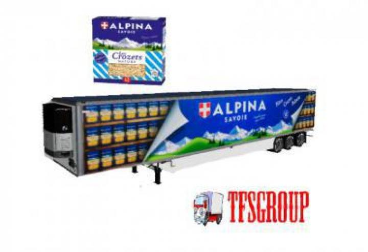FS19 - Refrigerated Industrial Trailer Alpina V2