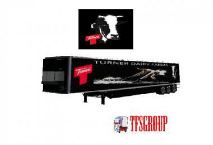 FS19 - Refrigerated Industrial Trailer Turner Dairy V2