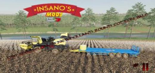 Photo of FS19 – Rostselmash New Holland Round Cotton Bale V1