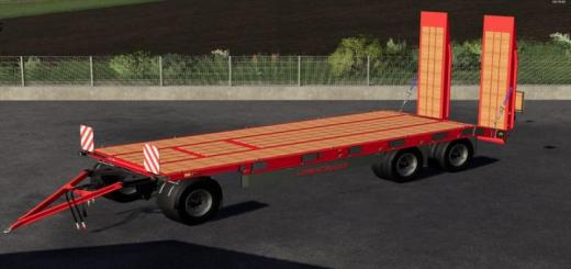 Photo of FS19 – Schwarzmueller Lowloader V1