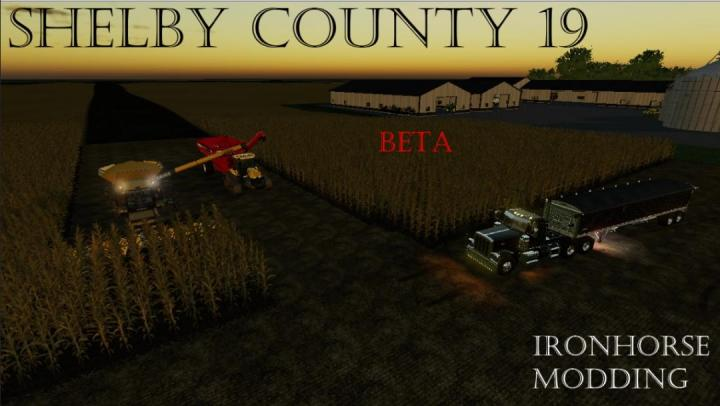 FS19 - Shelby County Map Beta