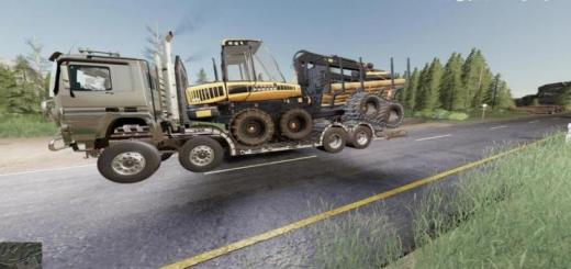 Photo of FS19 – Sisu Polar Forest Machine Transport V1
