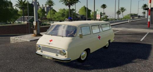 Photo of FS19 – Skoda 1203 Ambulance V1