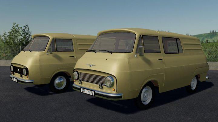 FS19 - Skoda 1203 V1
