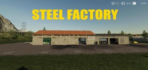 Photo of FS19 – Steel Factory V1