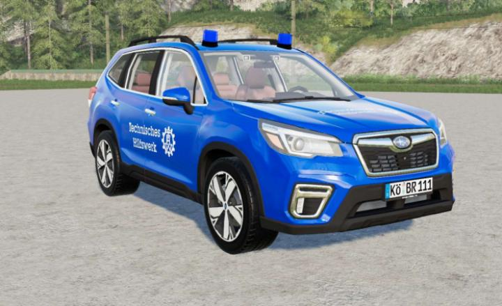 FS19 - Subaru Forester Thw