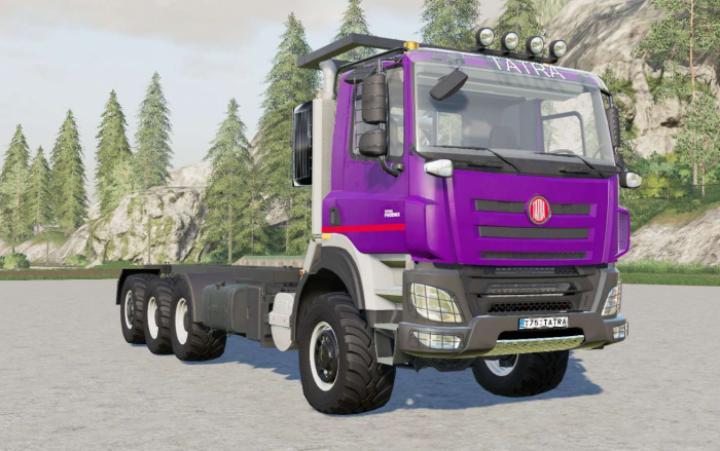 FS19 - Tatra Phoenix T158 8X8 Chassis Cab