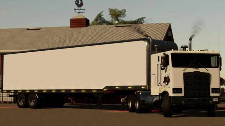 FS19 - Tlx 48Ft Enclosed Trailer V1