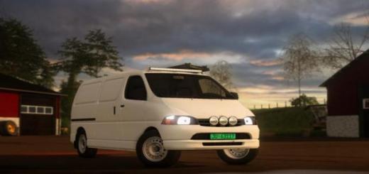 Photo of FS19 – Toyota Hiace D4D V1.1