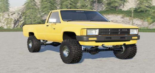 Photo of FS19 – Toyota Hilux Single Cab 4Wd 1983