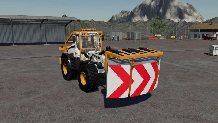FS19 - Traverse For Wheeled Loaders V1
