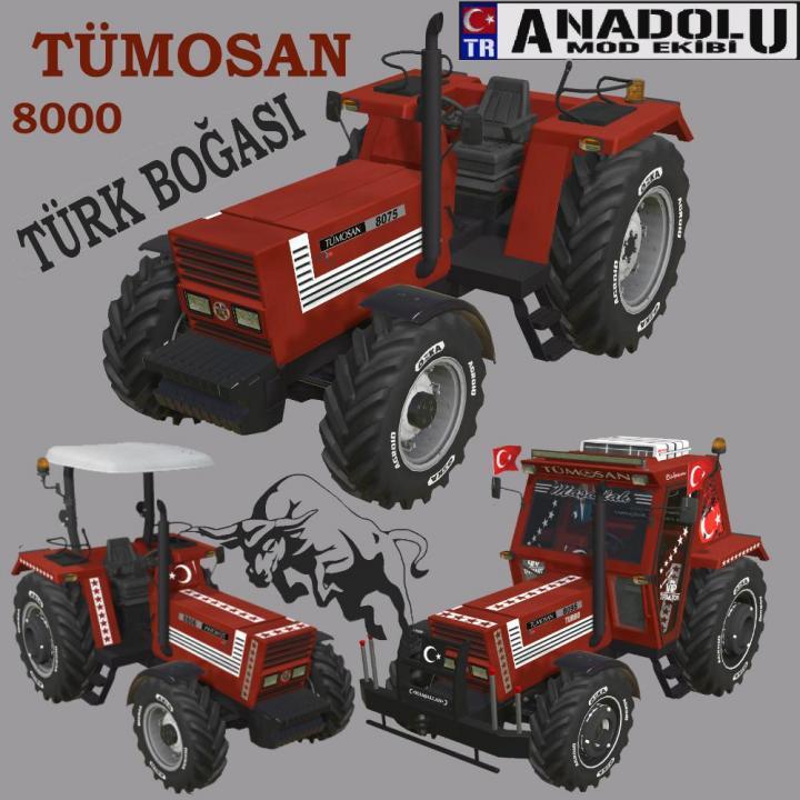 FS19 - Tumosan 8000 Turbo V3