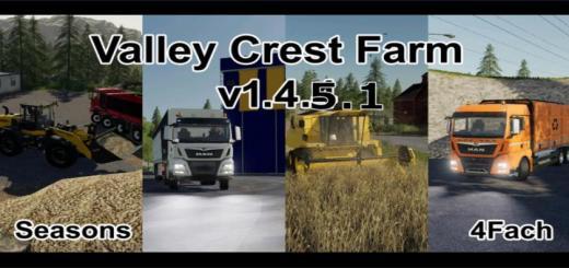 Photo of FS19 – Valley Crest Farm 4X V1.4.5.1