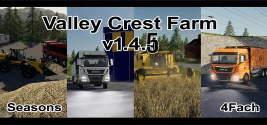 Photo of FS19 – Valley Crest Farm Fram 4X Map V1.4.5