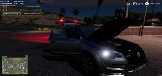 Photo of FS19 – Volkswagen Touareg With Simple Ic V1.0.0.1