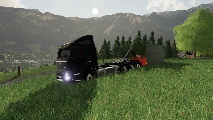 FS19 - Volvo Fmx Hooklift 8X4 V1