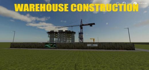 Photo of FS19 – Warehouse Construction V1