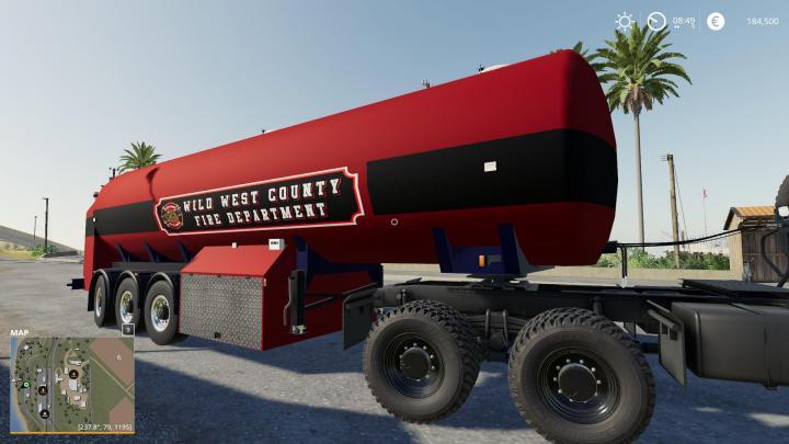 FS19 - Water Tanker Tender V2