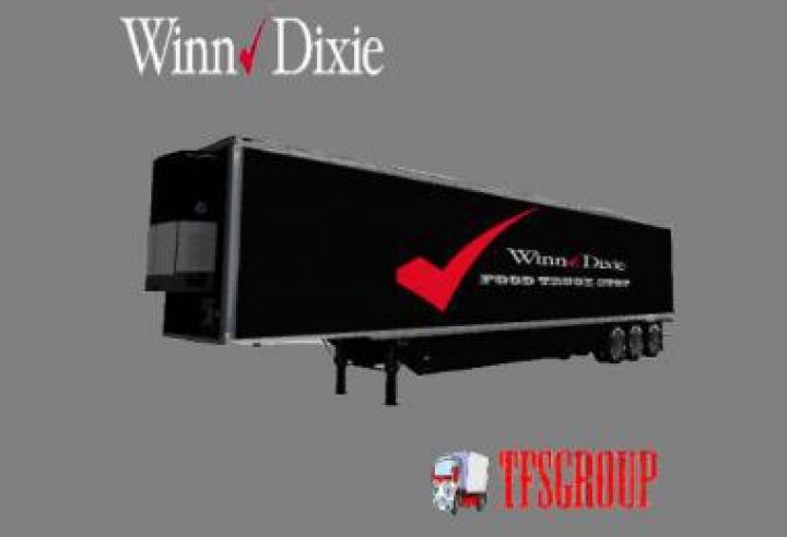 FS19 - Winn-Dixie Usa Trailer V2
