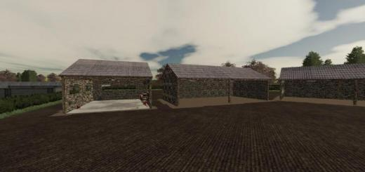 Photo of FS19 – Wyther Farms Shed Pack V1.1