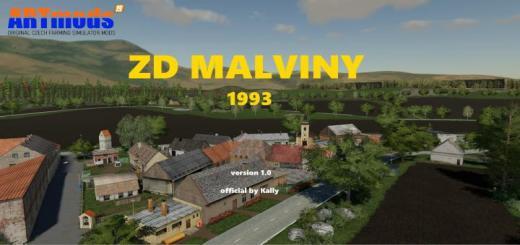 Photo of FS19 – Zd Malviny 1993 Map V1