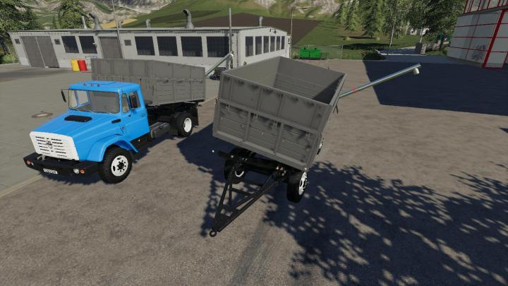 FS19 - Zil 45065 And Zil 4421 + Trailer V1