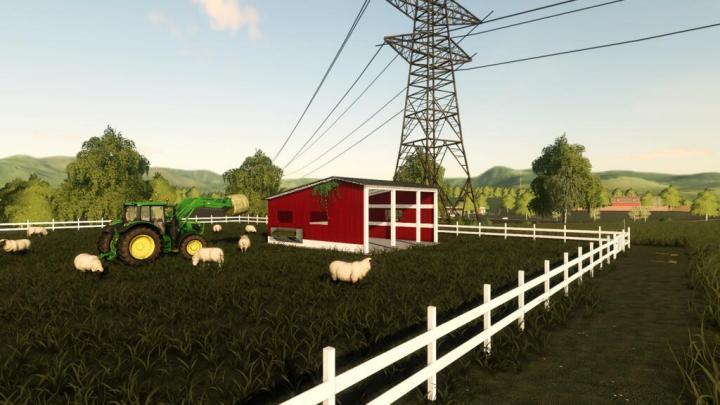 FS19 - American Sheep Pasture V1